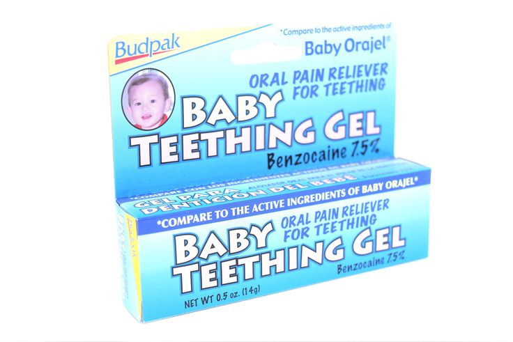 Budpak Baby Teething Gel, 0.5 Oz