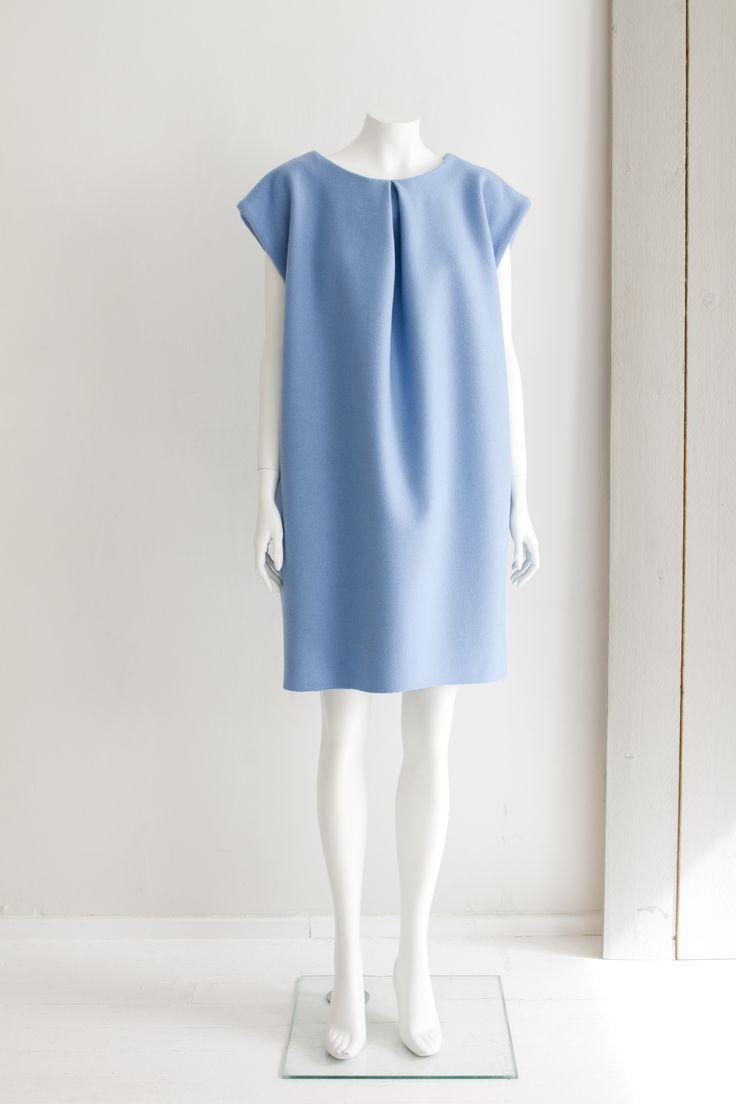 """""""Geometry"""" Hanna Sarén AW13 / woollen dress"""