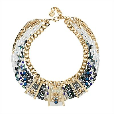 Country Club Necklace. Adorn your collarbone in red carpet glamour with our Country Club Necklace.  #mimco #statementnecklace