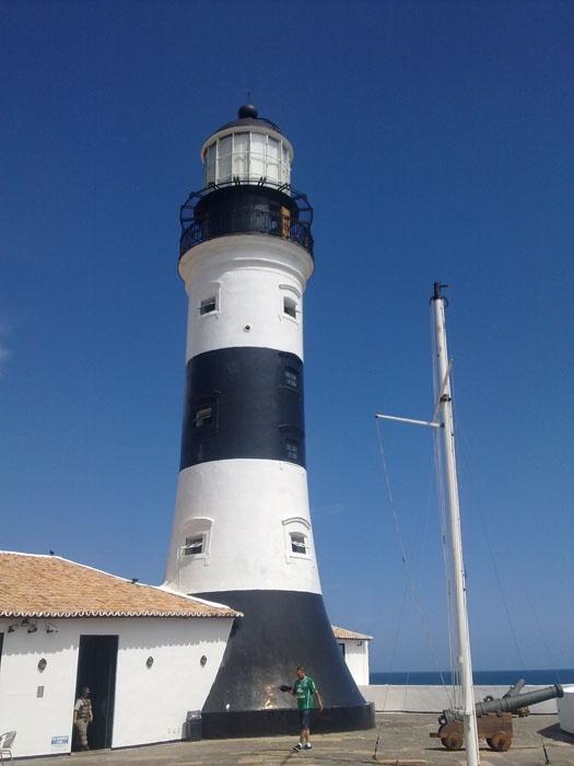 Salvador - O farol do Forte de Santo Antonio.