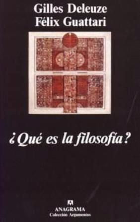 QUE ES LA FILOSOFÍA GE 101 D348