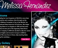 MELISSAFERNANDEZ design, html, wordpress