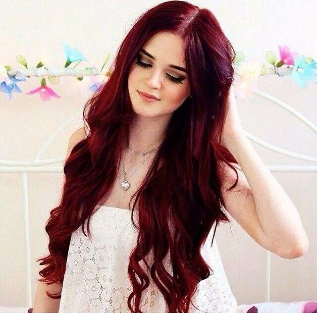 cabello largo que tenga pintado las puntas de rojo - Buscar con Google