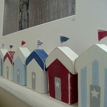 Beach huts - Strandhuisjes