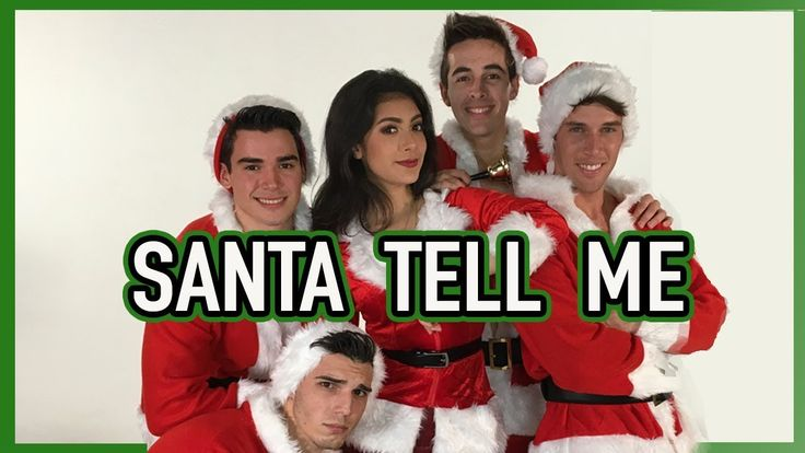 SANTA TELL ME  Ariana Grande - Giselle Torres cover Spanish-English