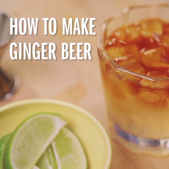Learn how to make spicy, refreshing ginger beer from our Food Network Kitchen!