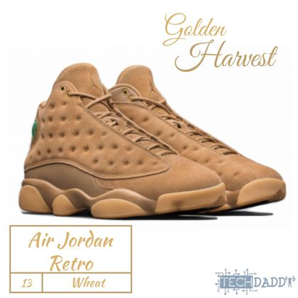 #NewBlogPost #SneakerHeads start your #Thanksgiving week off by checking out our new post about Air Jordan Retro 13s #Wheat These are dropping on 11/21 at 10AM. #fashion #sneaker #jordan13 #jordan  #sneakers  #jumpman23  #sneakerhead #jordan13 #jordans #sneakeraddict #sneakernews #airjordan #airjordanretro #retro13 #retro13wheat #goldenharvest @jumpman23 #jumpman #jumpman23 #techdaddy