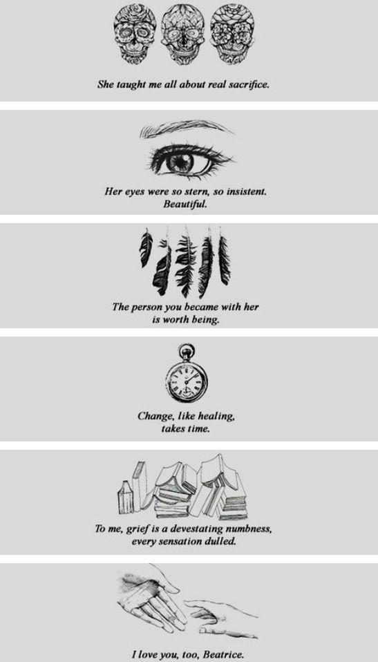 Allegiant quotes... SO SAD ~Divergent~ ~Insurgent~ ~Allegiant~