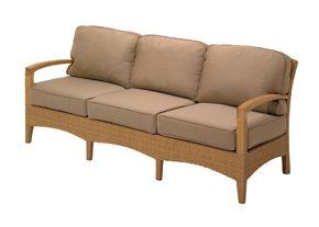 Reclining Sofa Cushions to Fit Gloster Teak Plantation Sofa