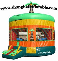Hot Sale PVC Tarpaulin Commercial Inflatable Castle,Bounce House from shanghai factory