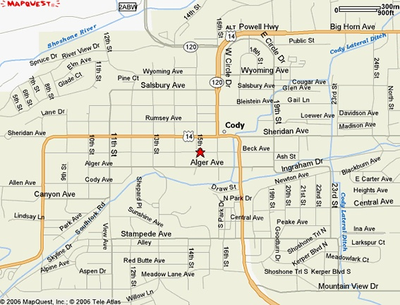Cody WY 567432  Maps  Pinterest