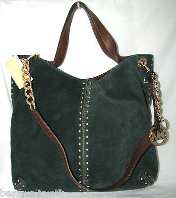 932574409fc4 Buy dark green michael kors bag > OFF63% Discounted