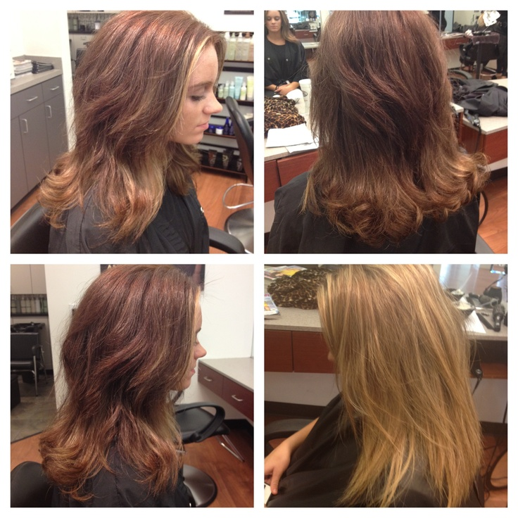 Color and cut designed by amberly colina at american salon for Accent styling salon gainesville