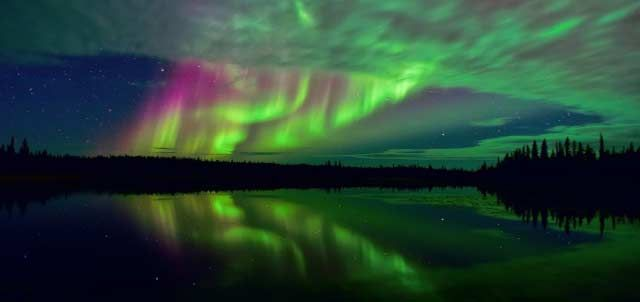Nature's own light show – Norway, home to magnificent Northern Lights.