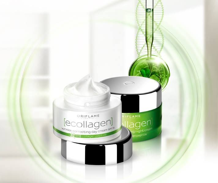 New Oriflame Ecollagen Skincare fights wrinkles like never before.