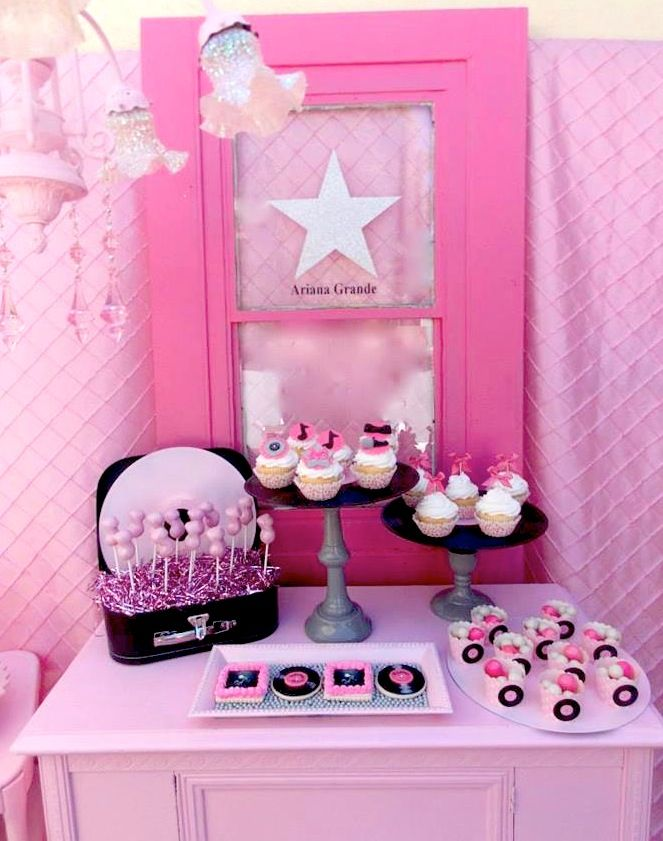 Ariana Grande Rock Star Themed 13th Birthday Party