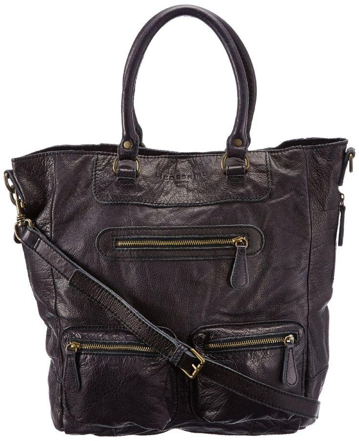 Liebeskind Lenya Damen Henkeltasche: Handtasche aus Leder in den Farben beige, braun, grau, grün, rot und schwarz zum Preis von 229,00 Euro