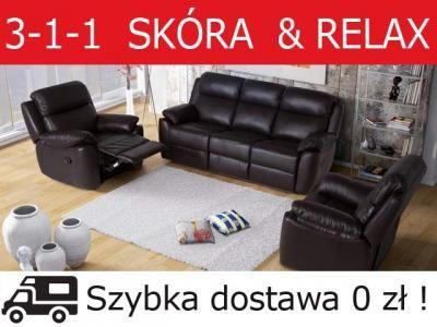 Mega Wygoda Zestaw Tv Relax 3 1 1 Skora Bostonsofa 5070105110 Oficjalne Archiwum Allegro Relax Electric Massage Chair Tv