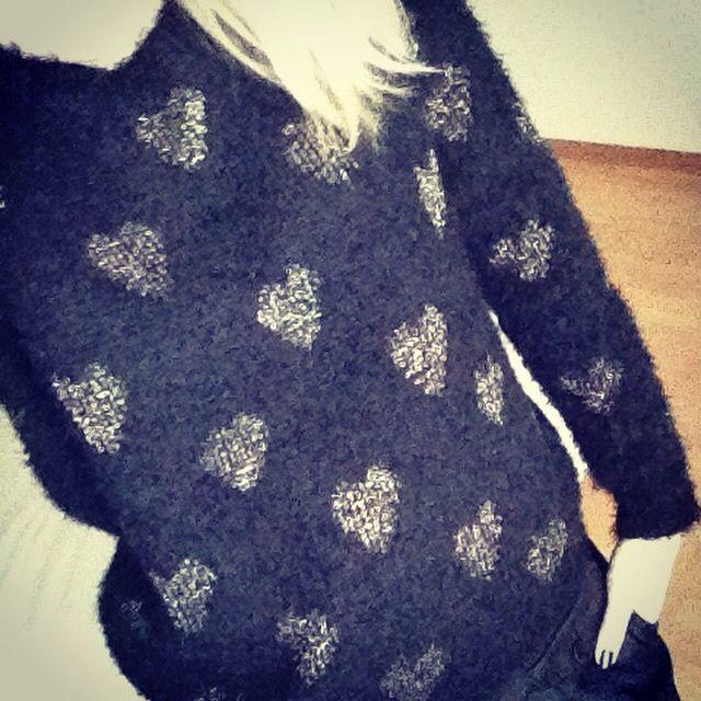 Love my new sweater!