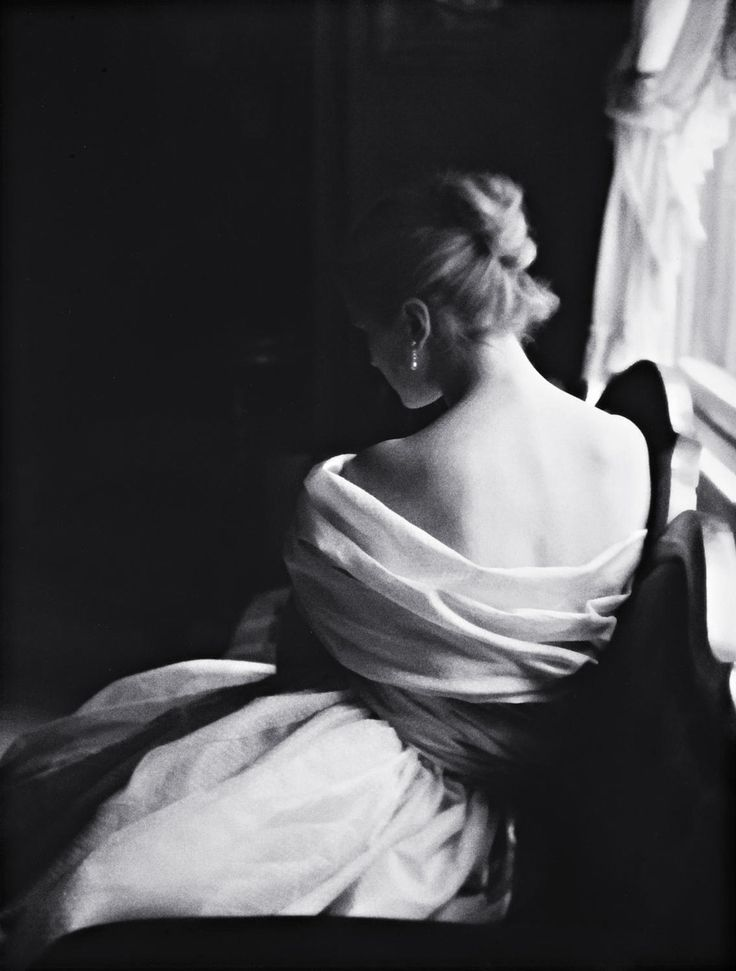 Margie Cato [test shoot] New York, 1950    photo by Lillian BassmanFashion, 1950S, Margie Cato, Bridal Portraits, White, Lillianbassman, Black Whit, Lillian Bassman Photography, Photography Inspiration