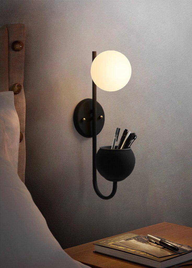 Ritz Single Head Pot Plant Light Tudo Co Tudo And Co Wall