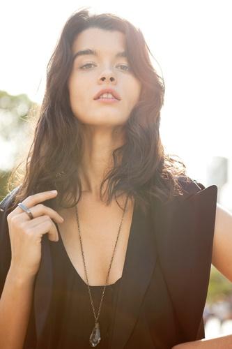 Crystal Renn Fashion Model - Crystal Renn Shows off Her Style