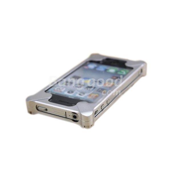 Wholesale Transformer Style Diagonal Metal Aluminum Bumper Case For iPhone 4S