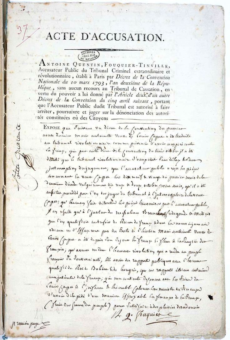 best images about french revolution madame du french revolution versailles the french revolution accusation du danton s death real documents le tribunal revolution pg1 siegravecle 18