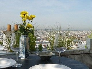 Amazing+Terrace+Eiffel+Tower+View+++Vacation Rental in 18th Arrondissement Montmartre from @homeaway! #vacation #rental #travel #homeaway