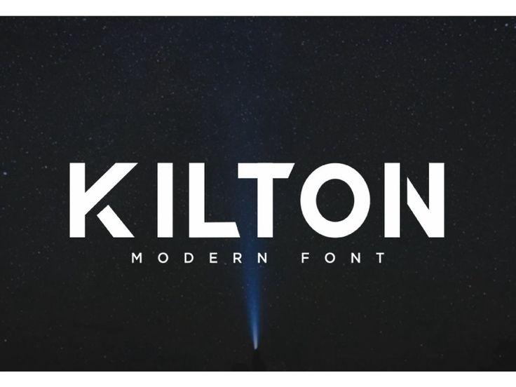 KILTON Sans Serif Font by Eldertype Studio