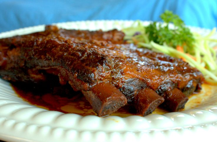 Super tender and delicious fall-off-the- bone Slow Cooker Asian Barbecue  Ribs. A tried and tested and NO FAIL recipe!