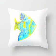 my fish 2 Throw Pillow