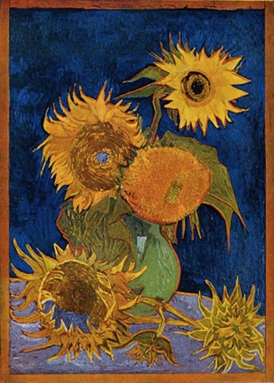 The mystery of van Gogh's Sunflowers