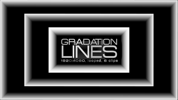 Gradation Lines Video Animation | 6 clips | Full HD 1920×1080 | Looped | Photo JPEG | Can use for VJ, club, music perfomance, party, concert, presentation | #abstract #basic #black #box #dance #disco #edm #geometric #gradation #music# rave #shape #techno #vj #white