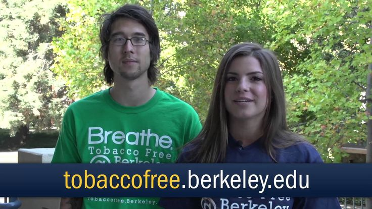 Breathe: @University of California @UC Berkeley now tobacco free