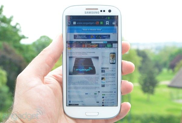 Samsung Galaxy S III review by engadget.  One of my favorite android smartphones. However, it is really big! Go see it before you buy it.