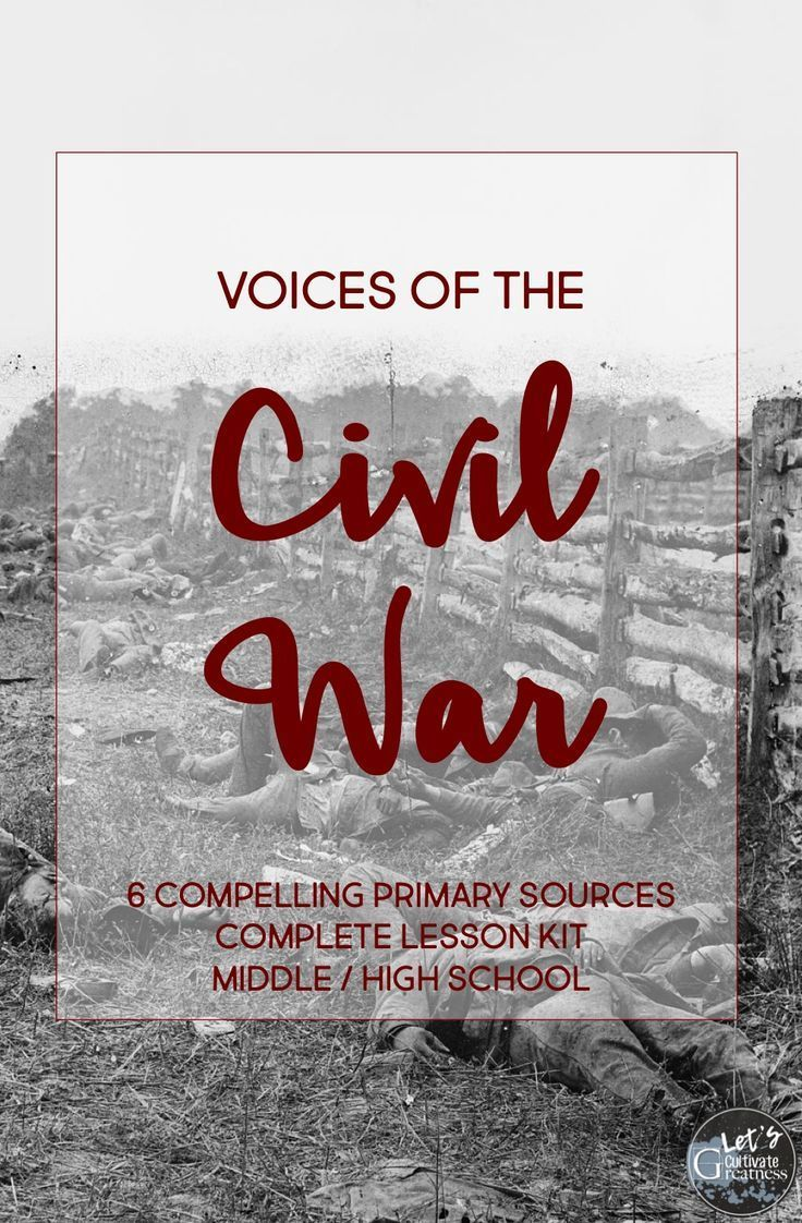 Use This Curated Collection Of 6 Short Primary Sources Complete With Common Core Aligned Worksheets To Elevate Civil War Lessons Civil War Projects Civil War [ 1122 x 736 Pixel ]