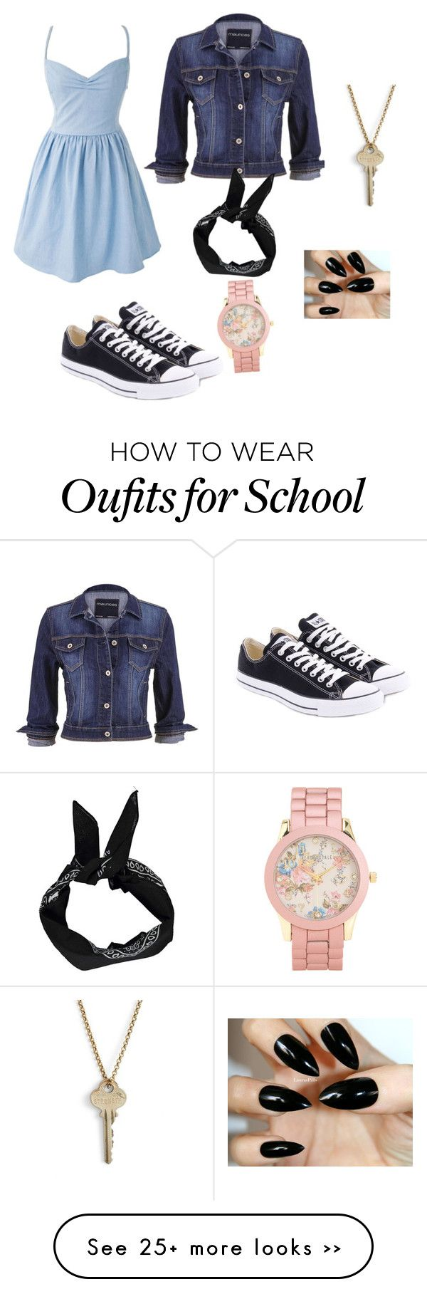 """School"" by jessalynnnnn on Polyvore"