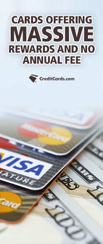 If you think you're stuck paying an annual fee just to get great rewards from your credit card then think again. Cards with no annual fee are offering massive rewards like never before. CreditCards.com has compiled a comprehensive list of the top cards with no annual fee so finding the perfect one for you has never been easier.