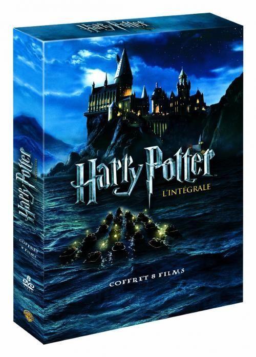 DVD Harry Potter coffret intégral : Coffret des 8 Films DVD - ETAT  NEUF