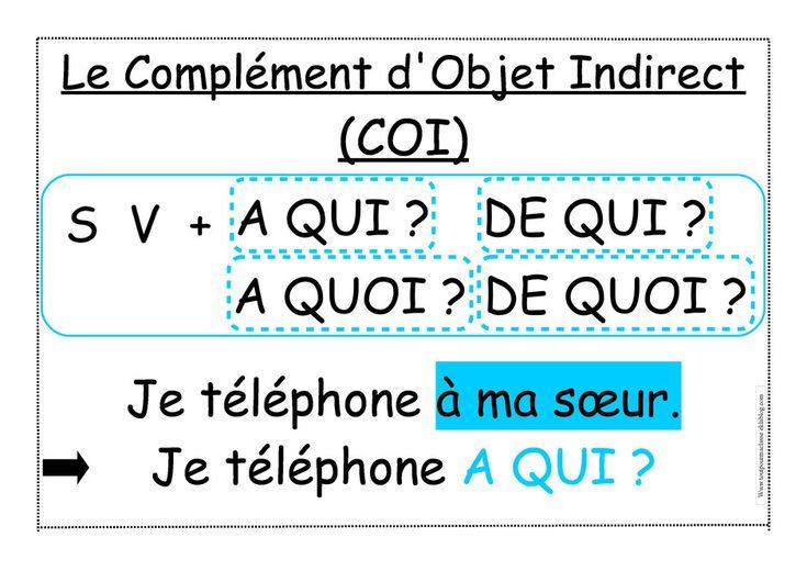 Pronombres de complemento - Pronoms de complément ...