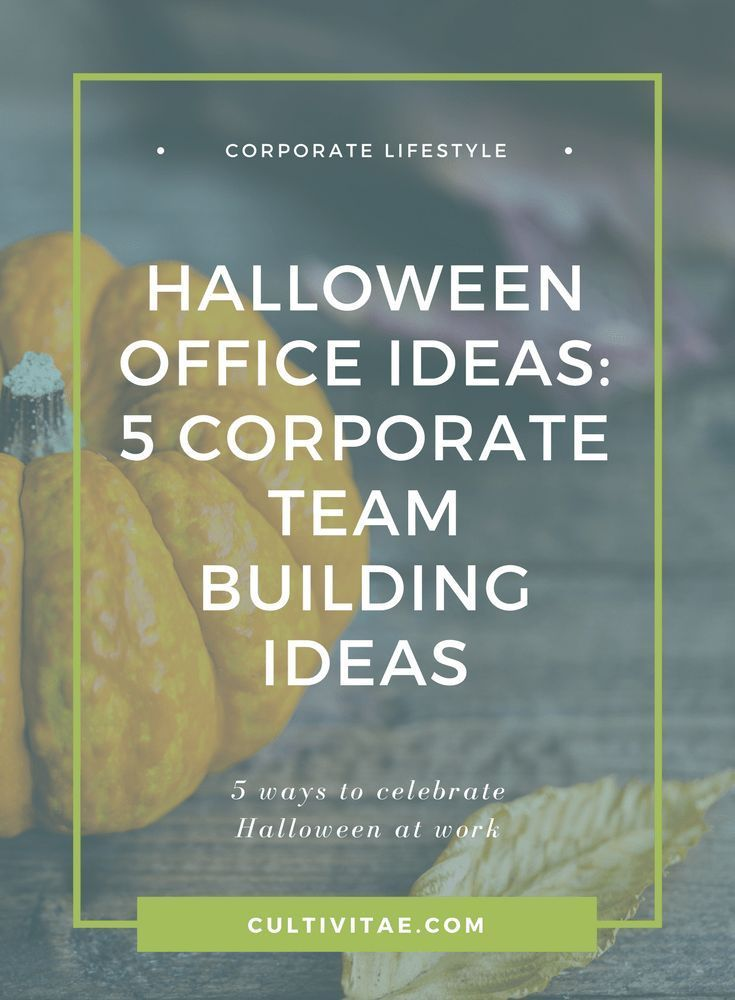 Happy Halloween! Is your office planning on having a corporate event - halloween office ideas