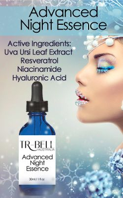 TR-Bell Australia - Pure Skin Care | Advanced Night Essence - feed and lighten while you sleep.