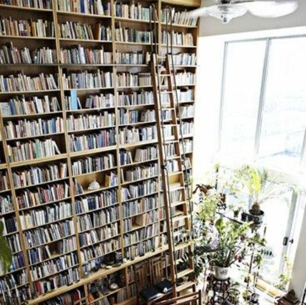 Oh, my Disney-loving heart. <3Bookshelves, Dreams Libraries, Dreams Home, Home Libraries, Ladders, Bookcas, Dreams Room, House, The Beast