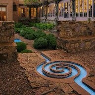 Exceptional Garden Water Channel · Mexico TravelSanta Fe ...