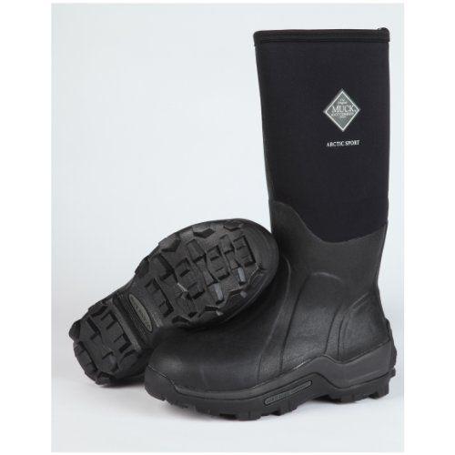 Men's Muck Boots Arctic Sport Boots, BLACK, 10 - http://authenticboots.com/mens-muck-boots-arctic-sport-boots-black-10/