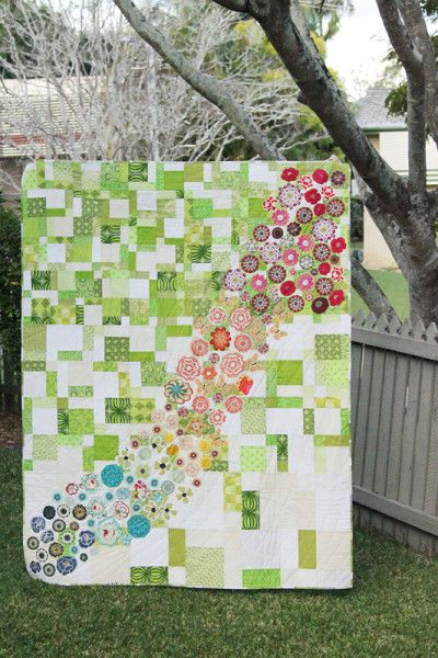 Meadow (a quilt tutorial)