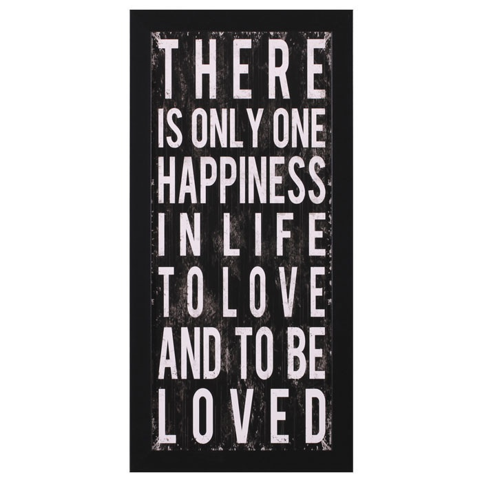 One Happiness Wall Art
