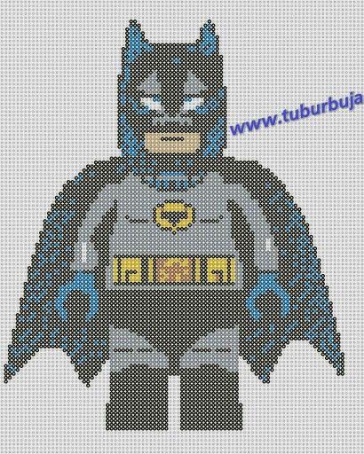 Batman De Lego M 225 S Plantillas En Www Tuburbuja Es Punto