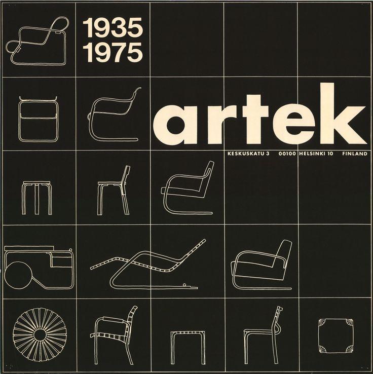 Artek 40th Anniversary Poster, 1975.